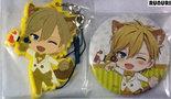 [Pre-owned] IDOLiSH7 Badge and Rubber Strap (Rokuya Nagi)