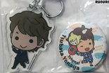 [Pre-owned] Badge and Acrylic Keychain (Tsubasa Yonaga)