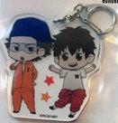 [Pre-owned] Ace of Diamond Acrylic Keychain (Miyuki & Sawamura)