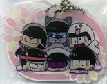 [Pre-owned] Osomatsu-san Acrylic Mascot (Group Todomatsu version)