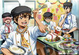 Ace of Diamond Clear File (Sweet Time Party)