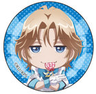Binan Koukou Chikyuu Bouei-bu LOVE! LOVE! Can Badge (Yufuin En Deformed Ver.)