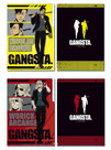 Gangsta. 3 Pocket Clear File
