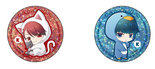 Star-Myu Crystalight Can Badge