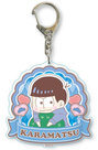 Osomatsu-san GyuGyutto Big Acrylic Keychain (Karamatsu)