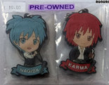 [Pre-owned]-Assassination-Classroom-2-Keychains-(Nagisa-Shiota-and-Karma-Akabane)