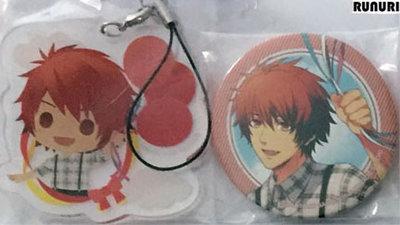 [Pre-owned] Uta no Prince-sama Badge and Acrylic Strap (Set) (Ittoki Otoya)