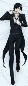 Black Butler Body Pillow (Sebastian Michaelis)