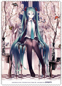 Hatsune Miku Cleaner Cloth (Spring Miku)