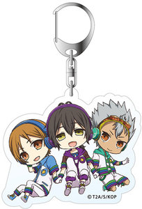 King of Prism by PrettyRhythm Acrylic Keychain (Chibidans Over The Rainbow)