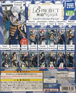 B-PROJECT--Kodou-Ambitious--Mini-Tapestry-Collection