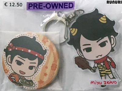 pre-owned_miyu_irino_badge_and_acrylic_keychain